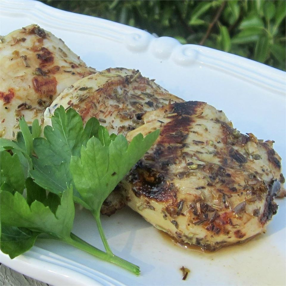 Grilled Chicken and Herbs Deb C