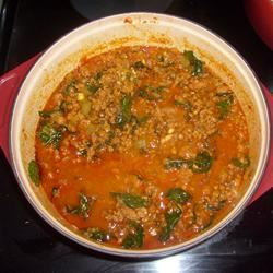 Chorizo and Lentil Stew Ms. SassyRoo
