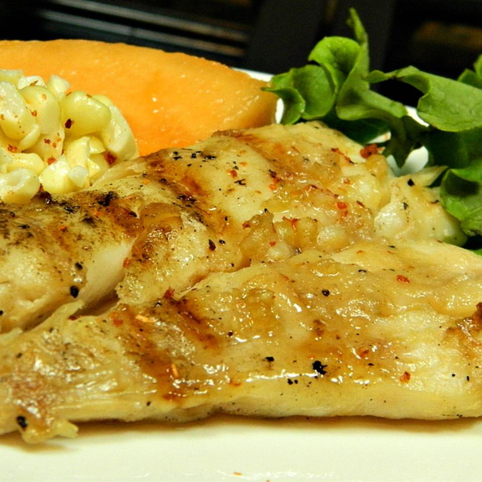 Barbeque Halibut Steaks Marianne