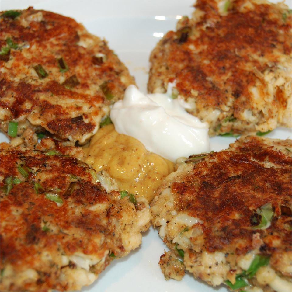 Spicy Tilapia and Feta Cakes Raquel Teixeira