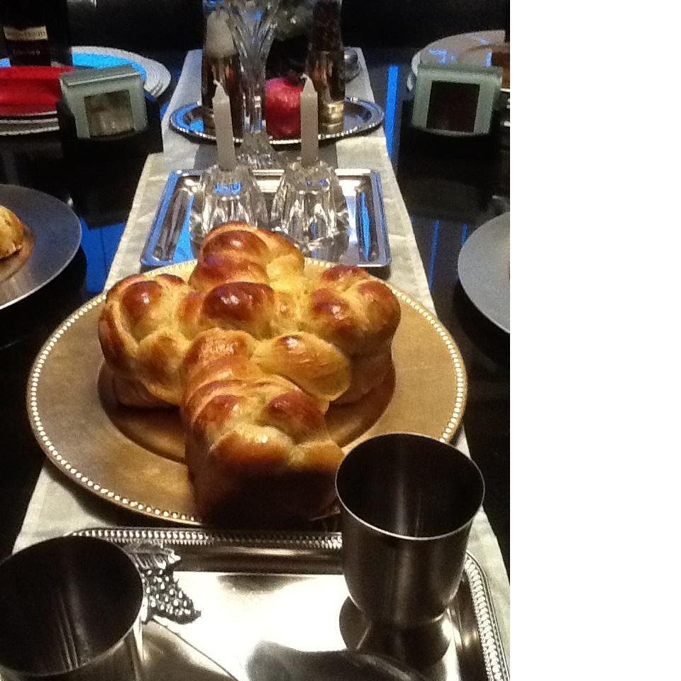 Easy Challah Bread Juanita