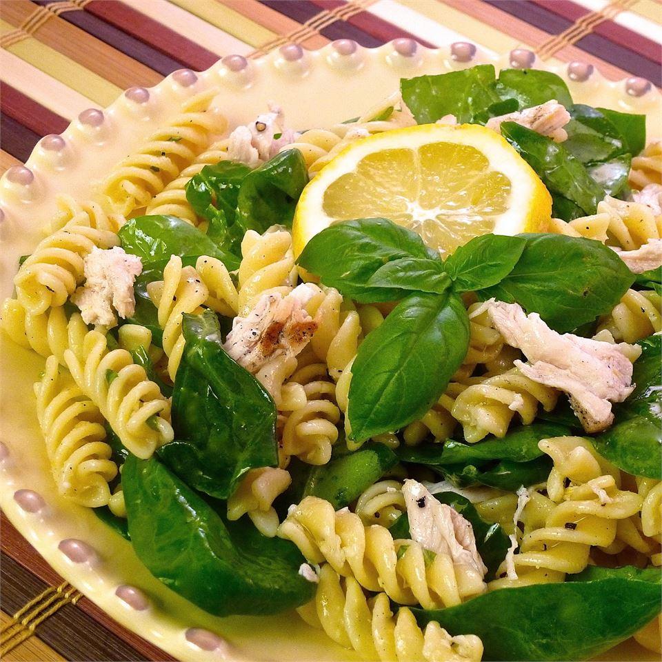 Lemon Basil Pasta Salad