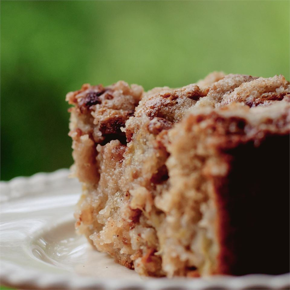 Oma's Rhubarb Cake CherylB