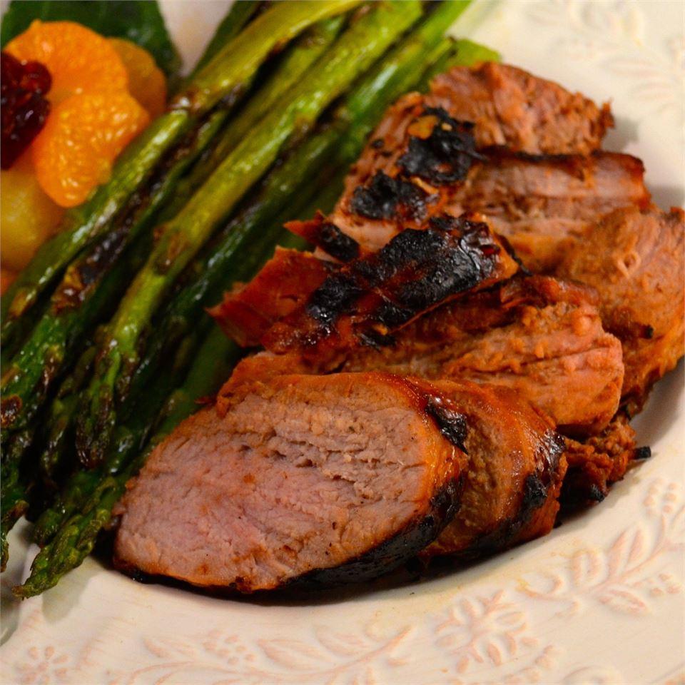 Marinated Grilled Pork Tenderloin Donna Leigh