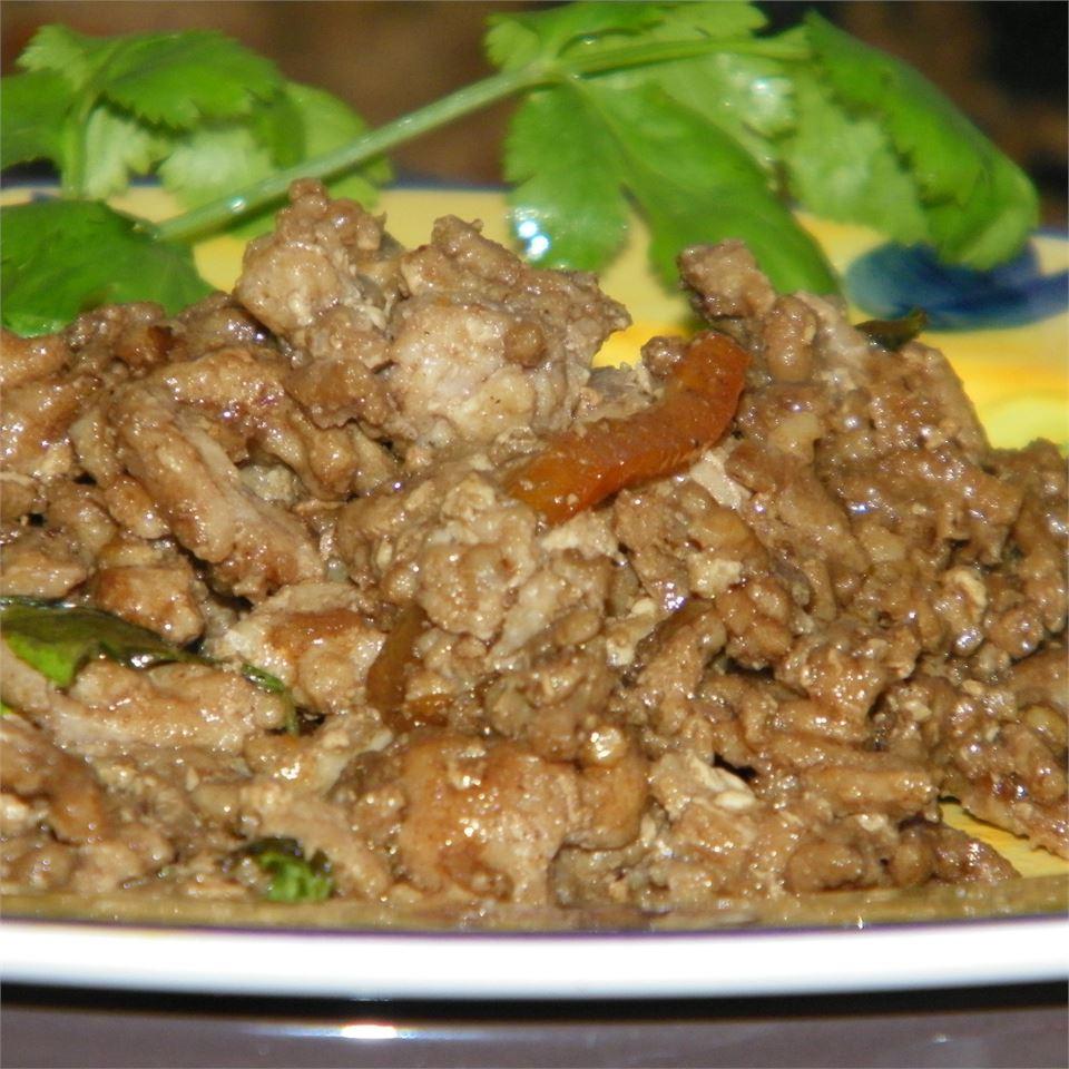 Thai Ground Chicken Basil Seattle2Sydney