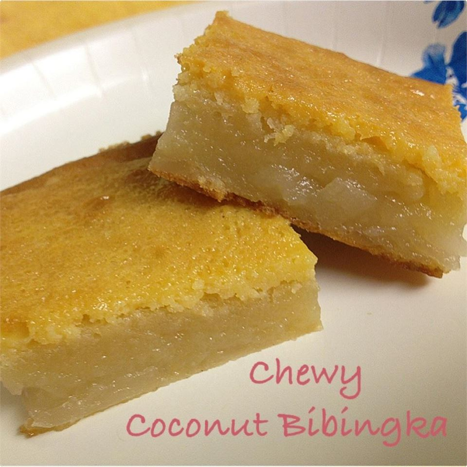 Chewy Coconut Bibingka (Filipino Rice Cake)