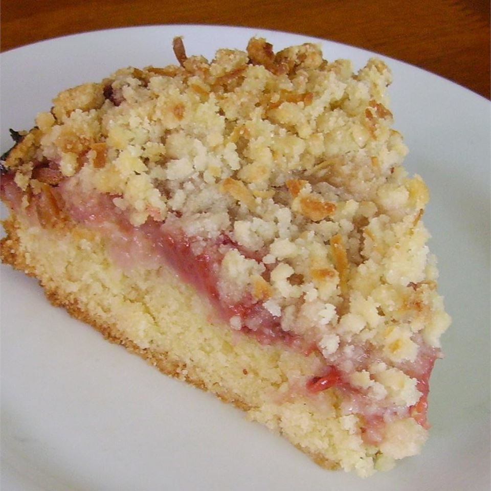 Fresh Strawberry Coffee Cake Christina