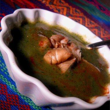 creamy spinach and zucchini soup recipe