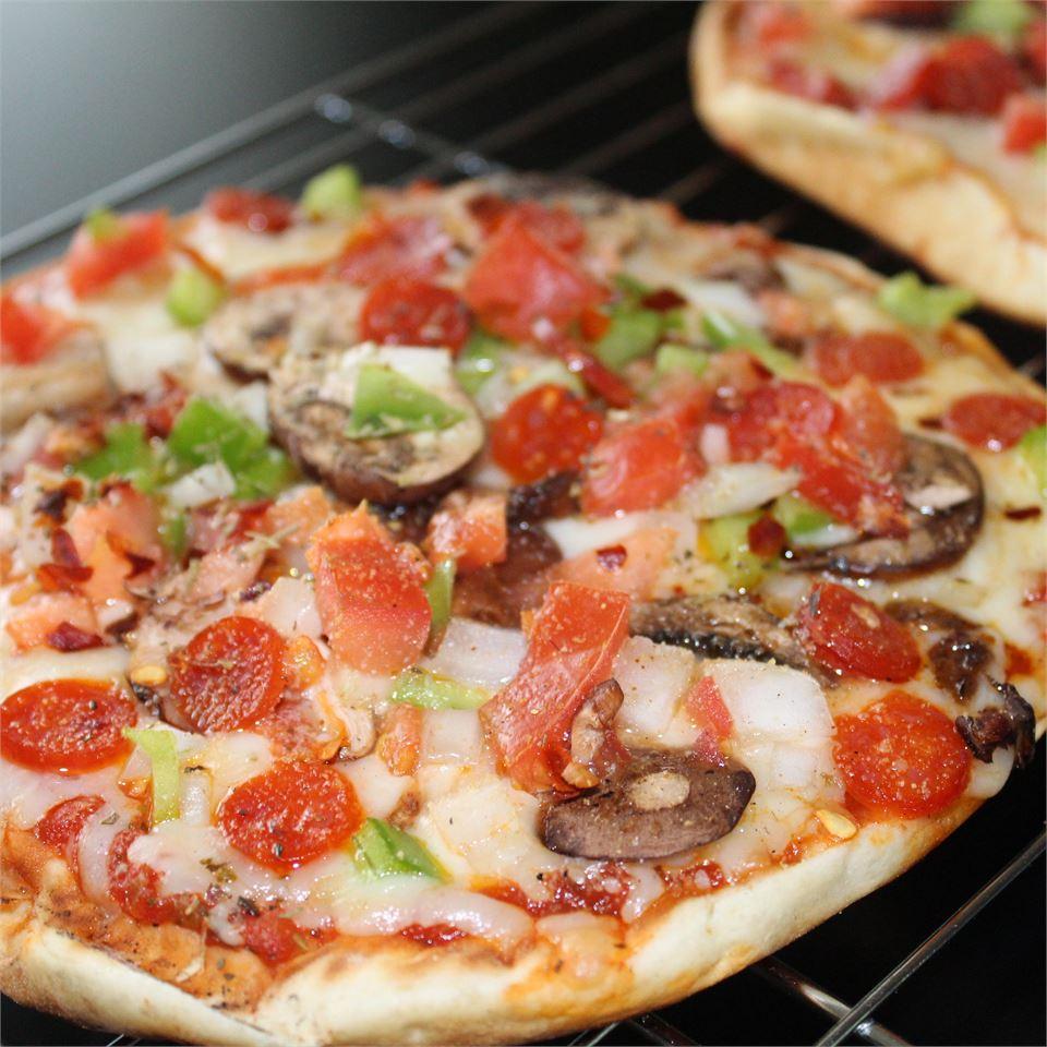 Veggie Pita Pizza Mindy Pretner