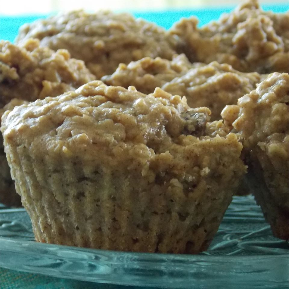Oatmeal Apple Muffins CHANDYCOOKS