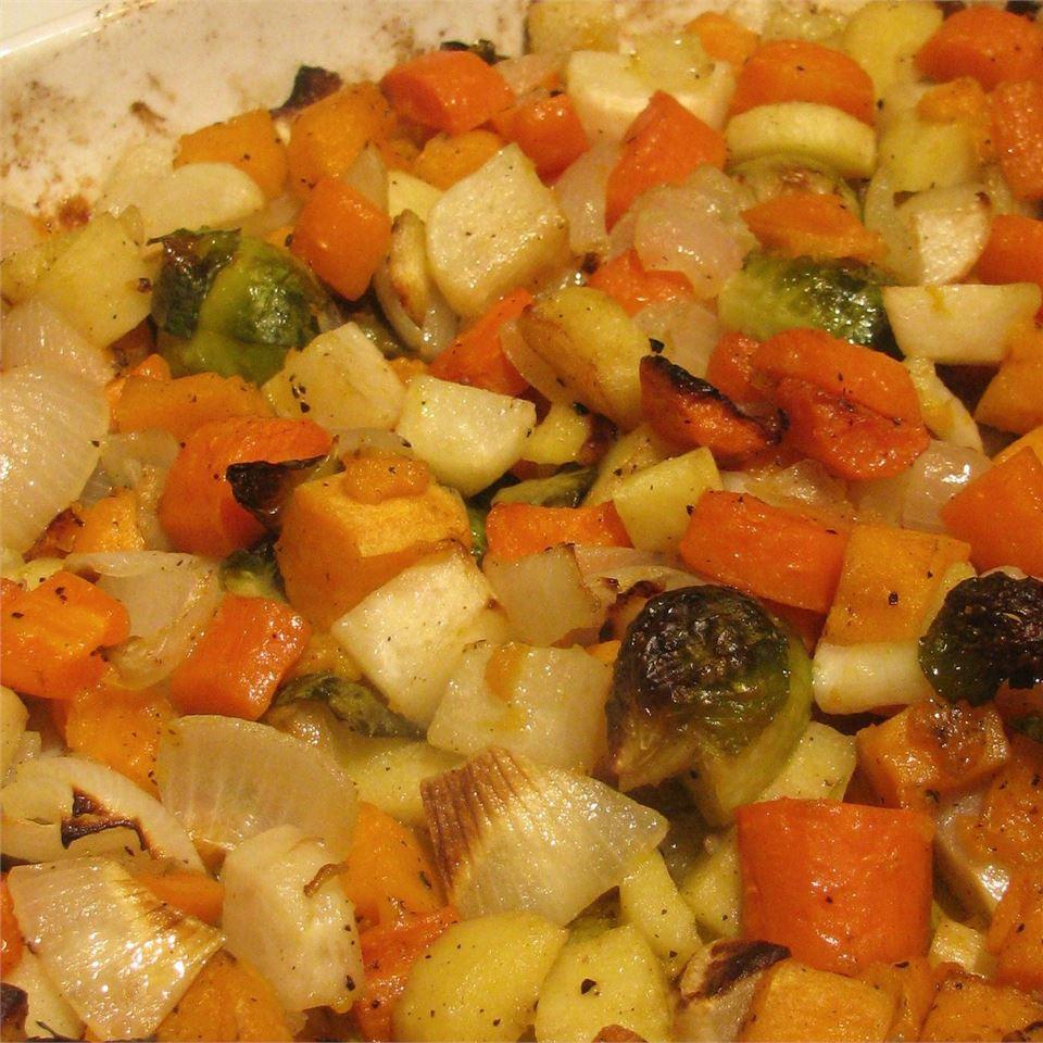 Seasoned Roasted Root Vegetables MissyDi