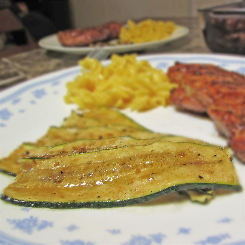 Easy Grilled Zucchini