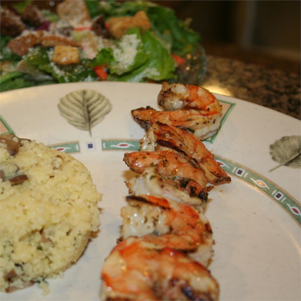 Grilled Marinated Shrimp Ms. Chef Esh