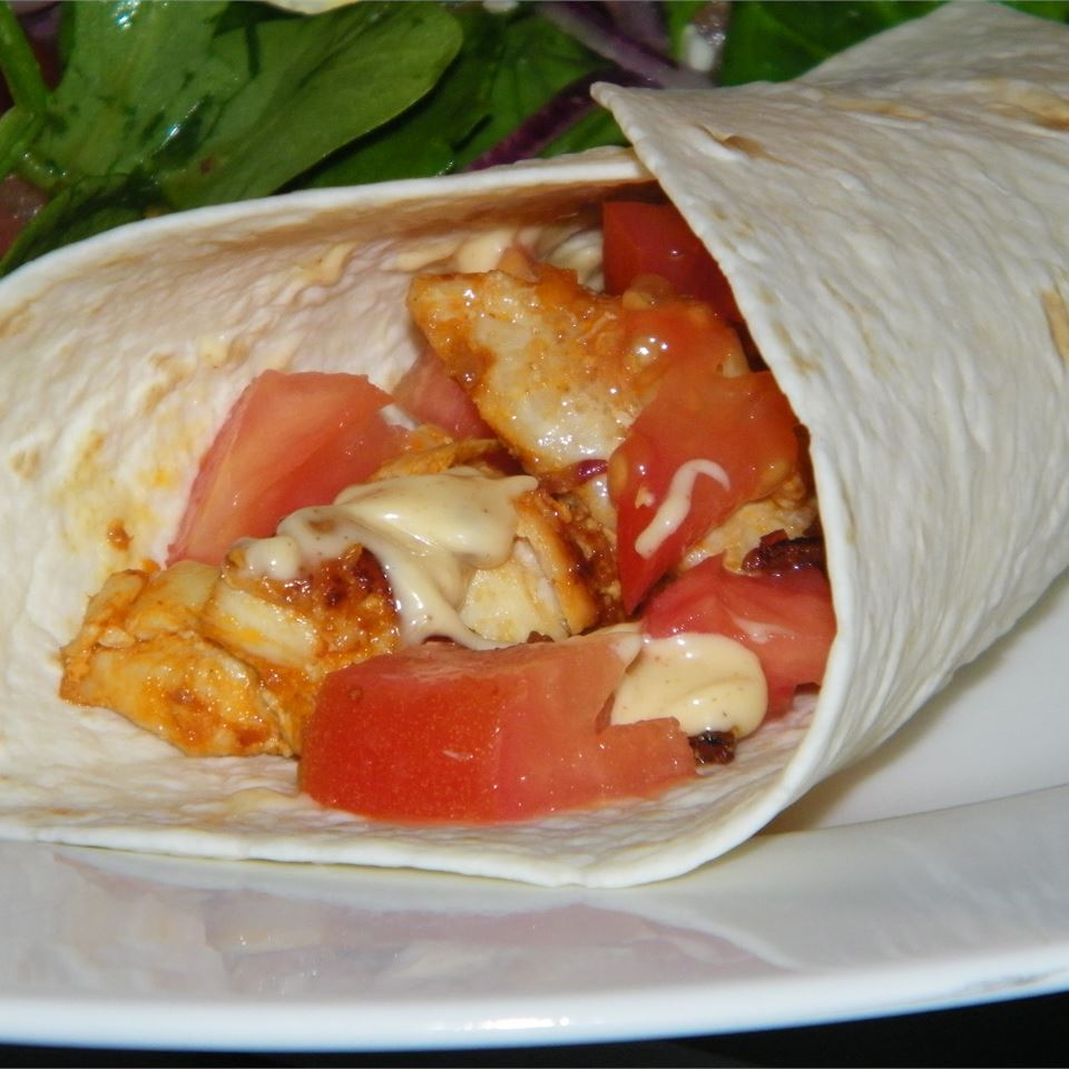 Buffalo Chicken and Ranch Wraps Seattle2Sydney