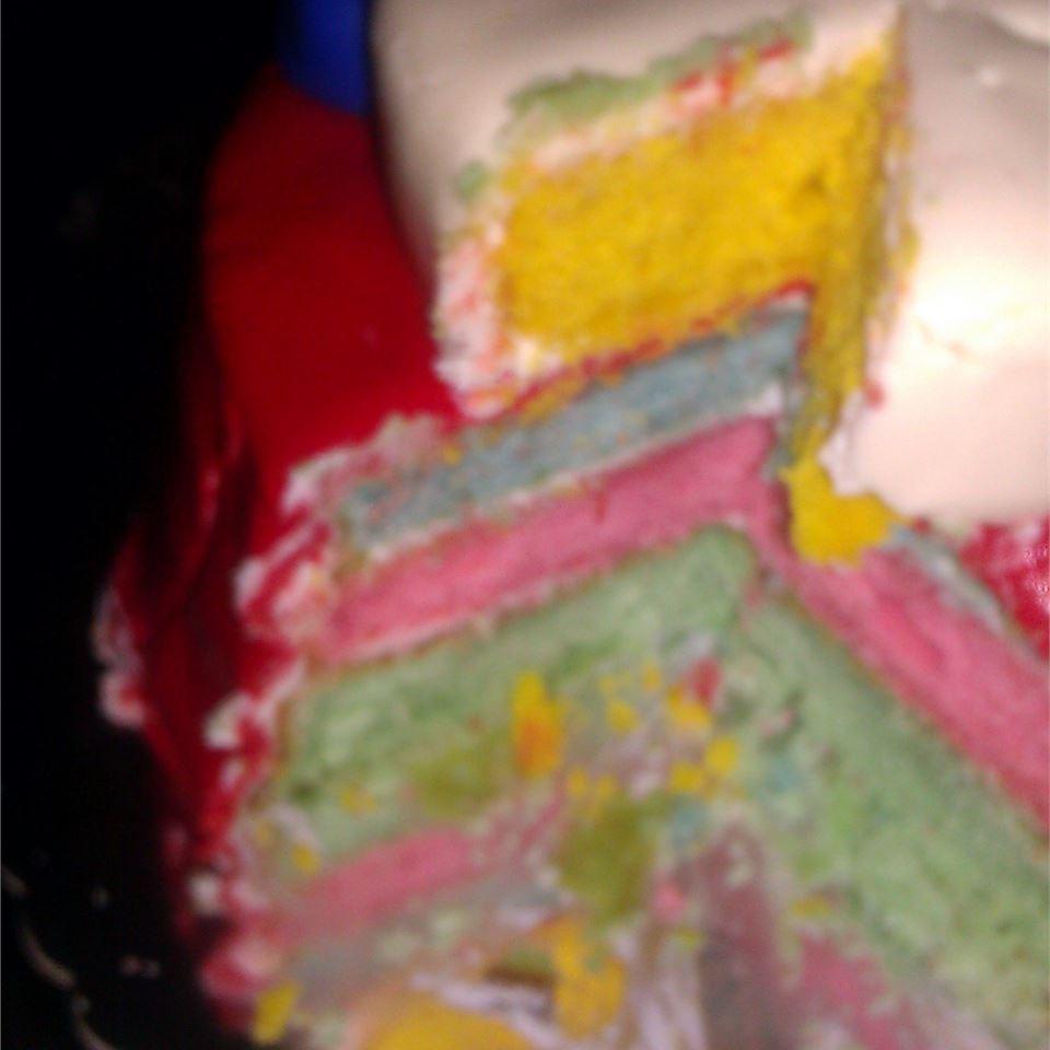 Rainbow Cupcakes Toya
