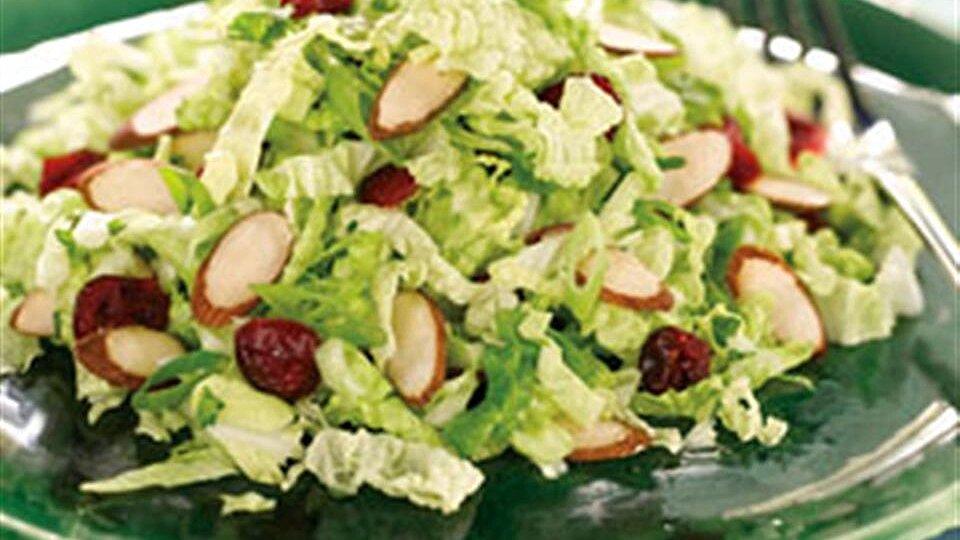 Cranberry Almond Crunch Slaw