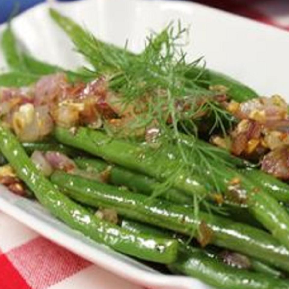 Sauteed Dilled Green Beans