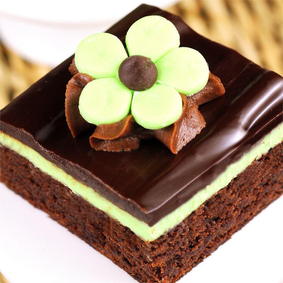 Chocolate Mint Dessert Brownies Kim Getchell