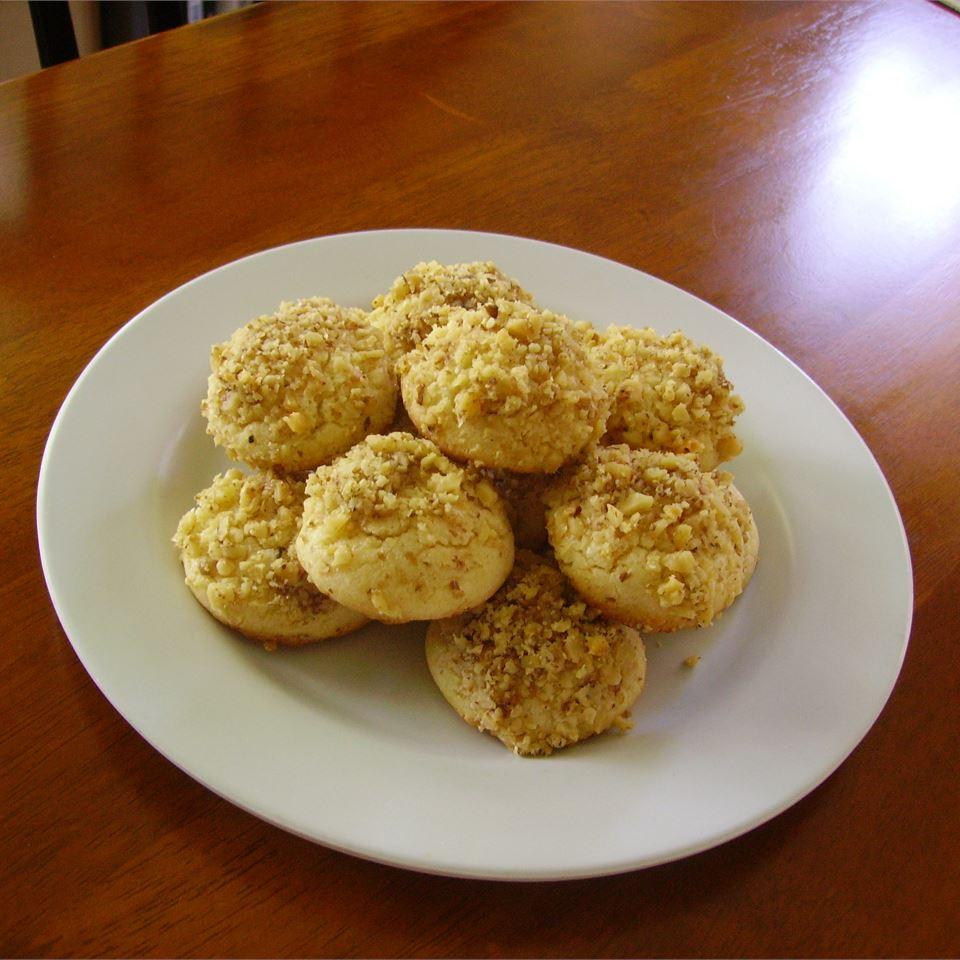 Lemon Nut Cookies Christina
