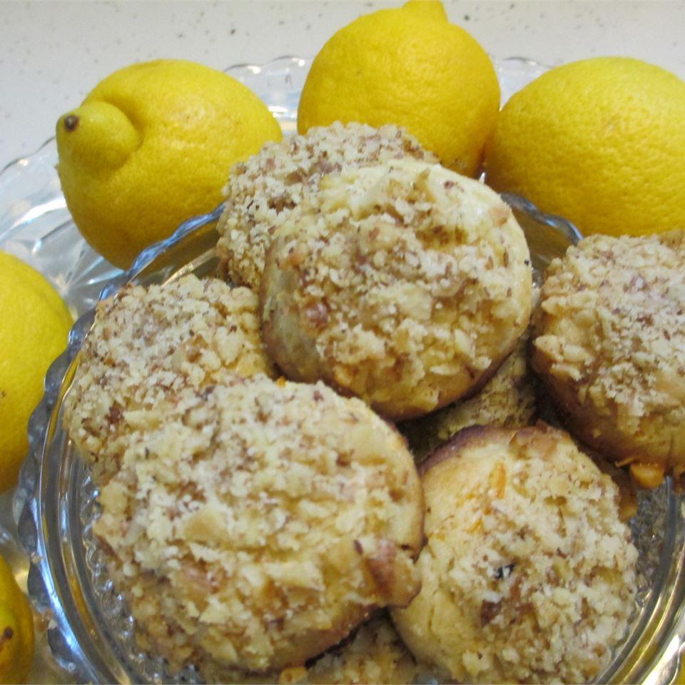 Lemon Nut Cookies