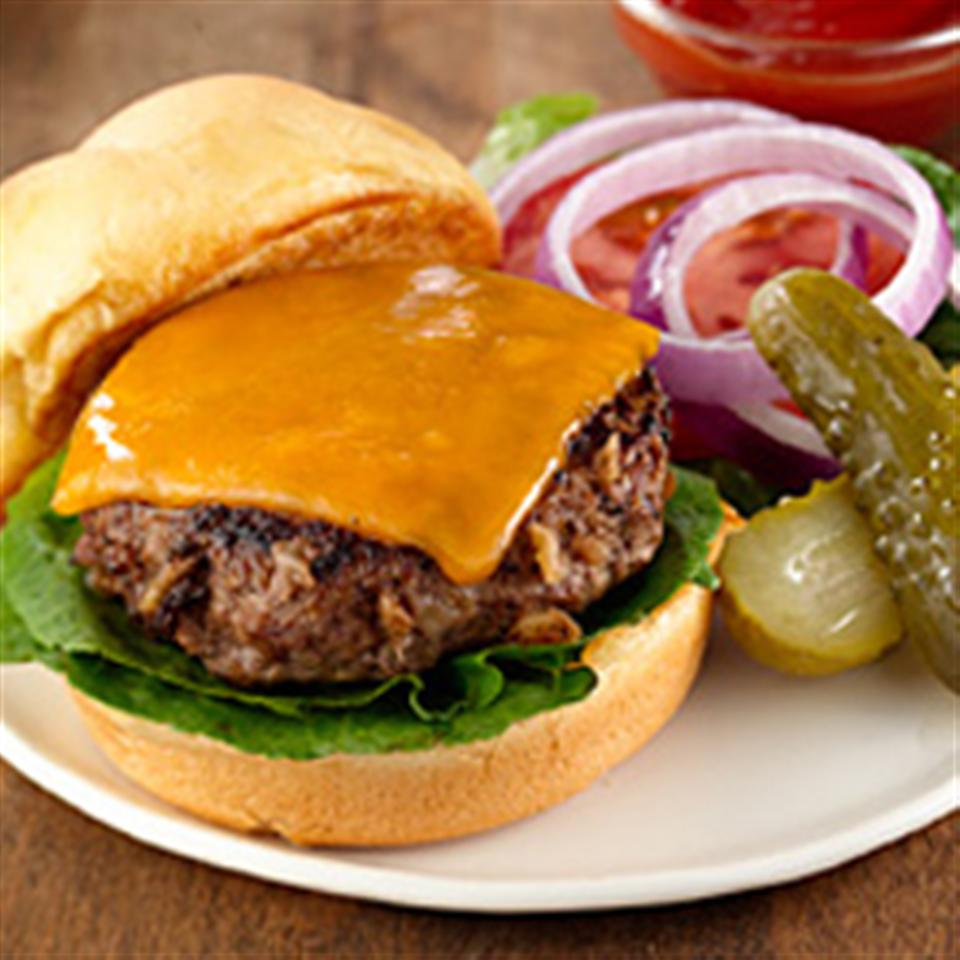 Savory Beefy Burgers Allrecipes Trusted Brands