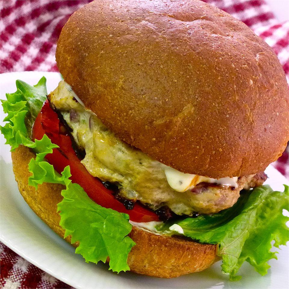 Basil Turkey Burgers hhummel