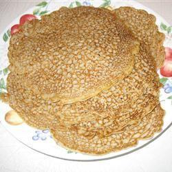Tasty Buckwheat Pancakes me