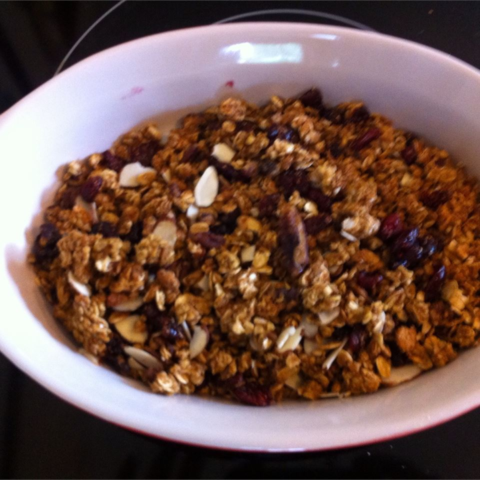 Crunchy Granola Breakfast Cereal
