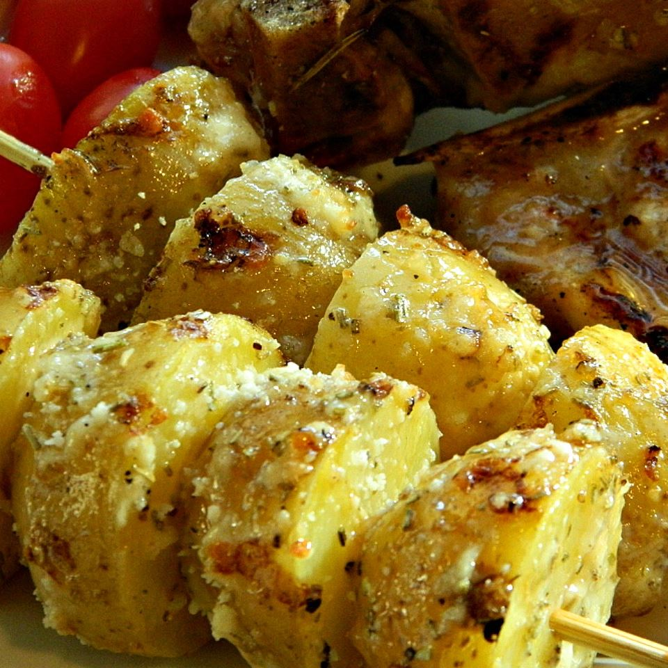 Skewered Grilled Potatoes Marianne