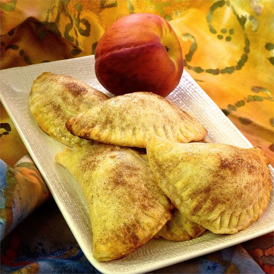 120 Calorie Peach Pies