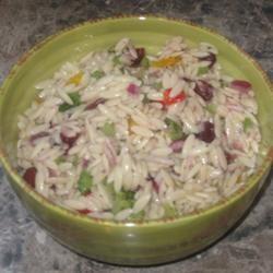 Orzo and Wild Rice Salad