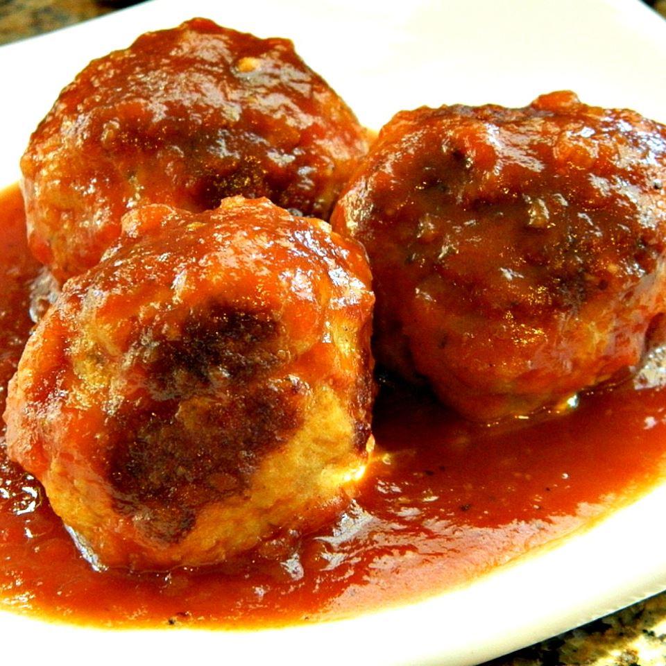 Homemade BBQ Meatballs