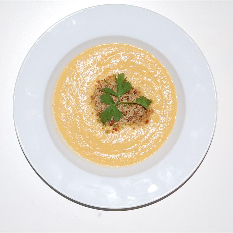 Cream of Cauliflower Soup With Bacon Gremolata