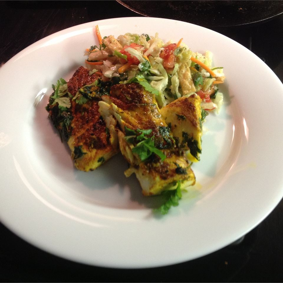 Pixie's Indian Style Halibut