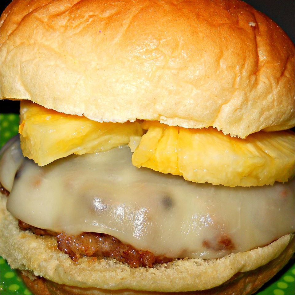 Teriyaki Pineapple Turkey Burgers from DOLE® shannonferger
