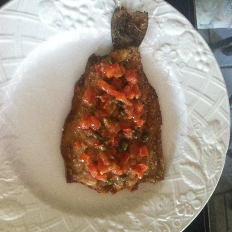 Trout Almondine, High Desert Style