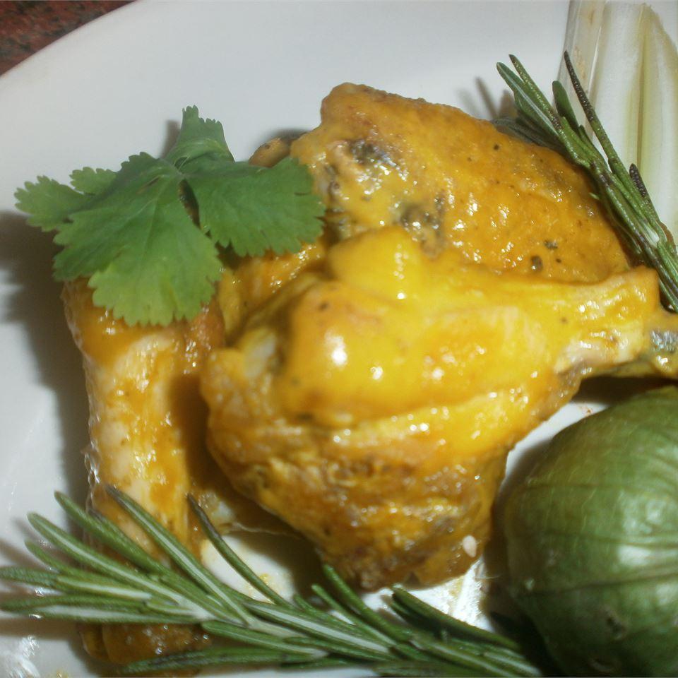 Sweet Hot Mustard Chicken Wings Jer3m1ah