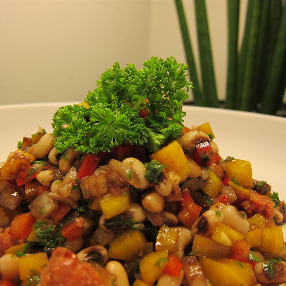 Marinated Black-Eyed Pea Salad Brooke Laurel