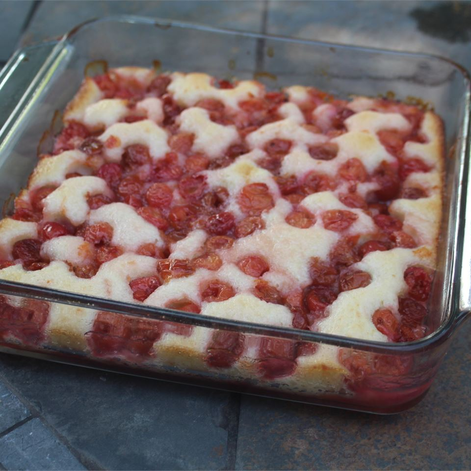 Sour Cherry Pudding Cake