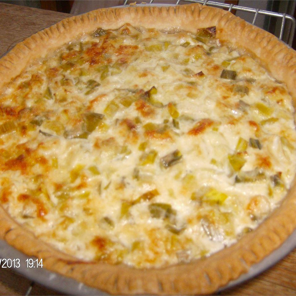 French Leek Pie Kathleen Hill