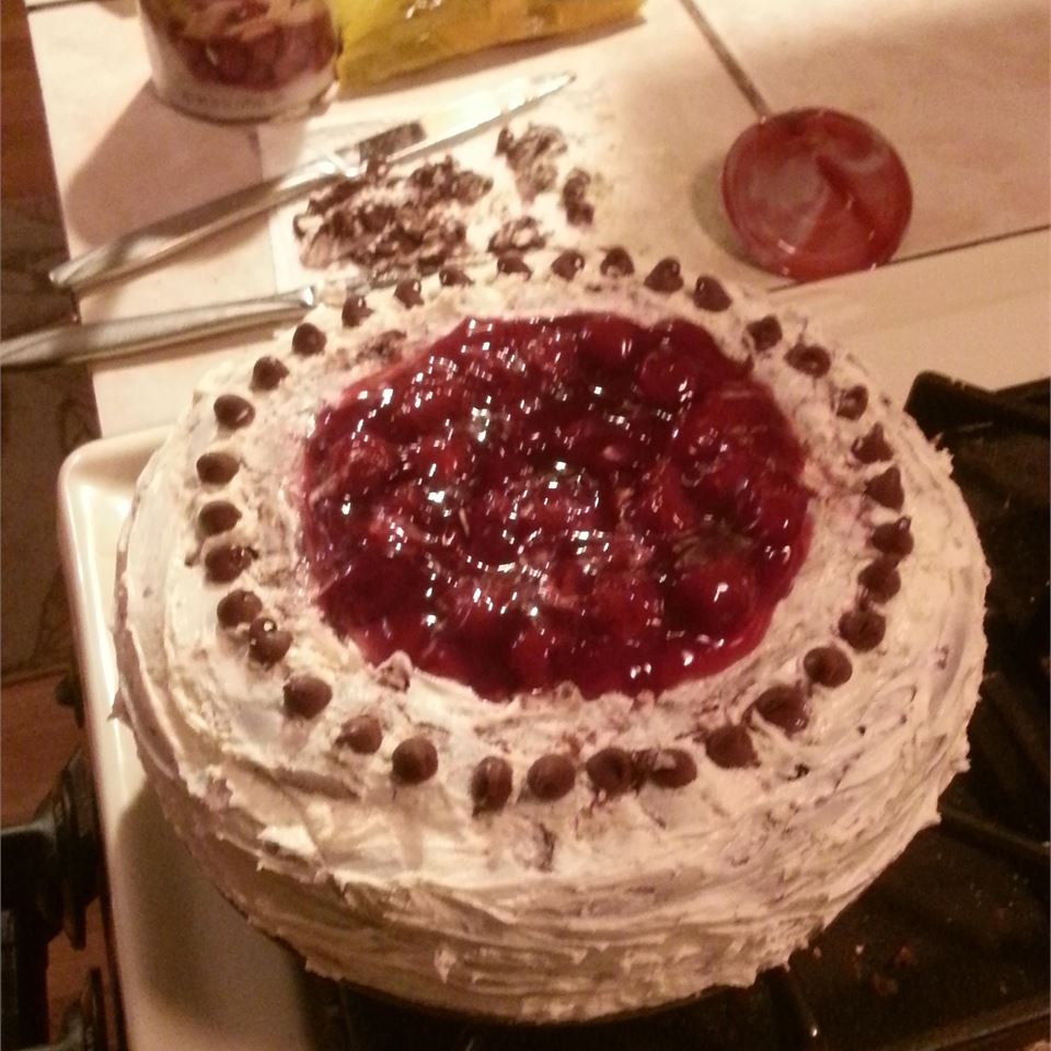 Black Forest Chocolate Cake Stacy