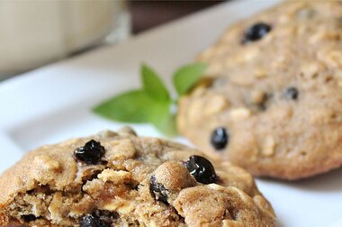 blueberry oatmeal cookies recipe