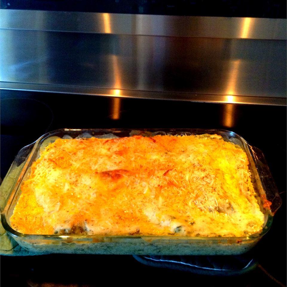 Chicken Lasagna with White Sauce Laceylee987