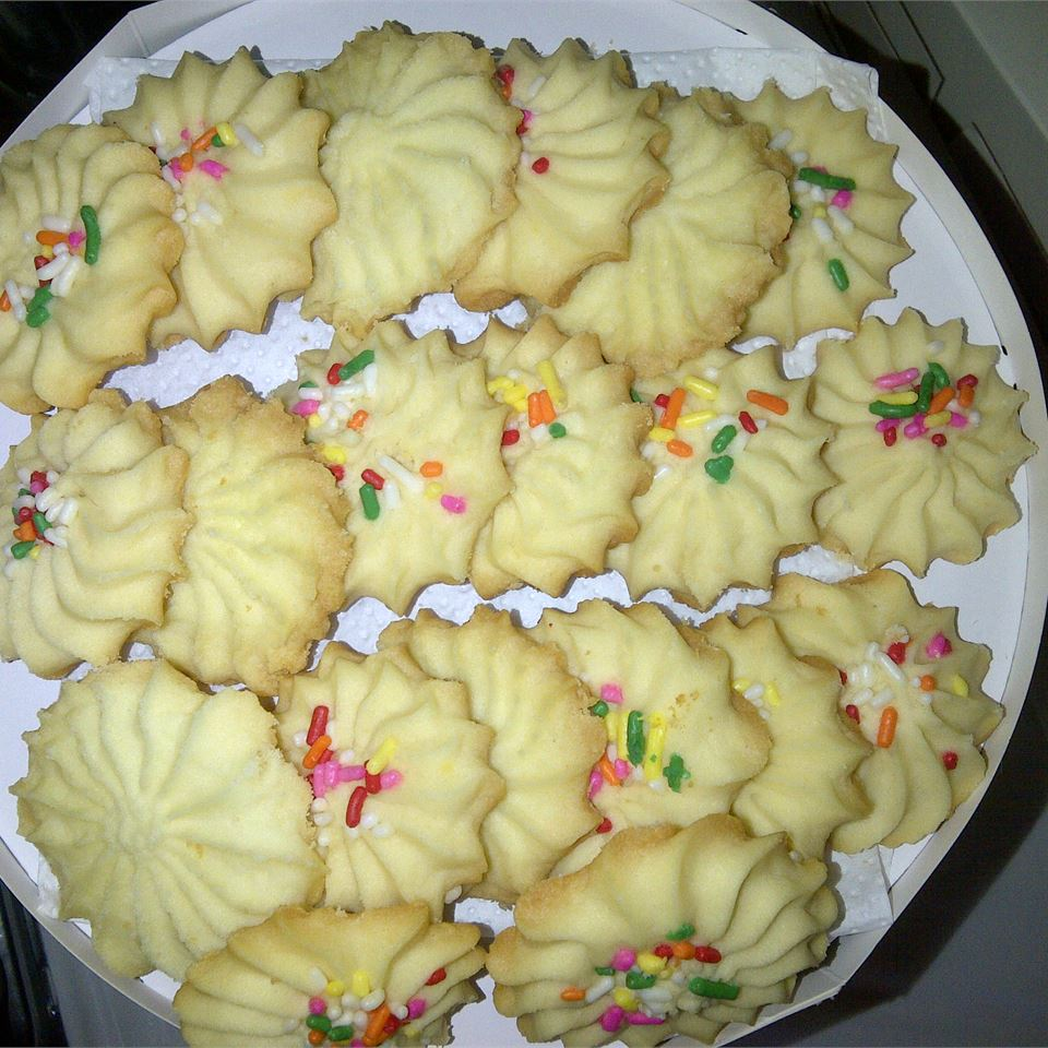 3-Ingredient Shortbread Cookies JaneDough