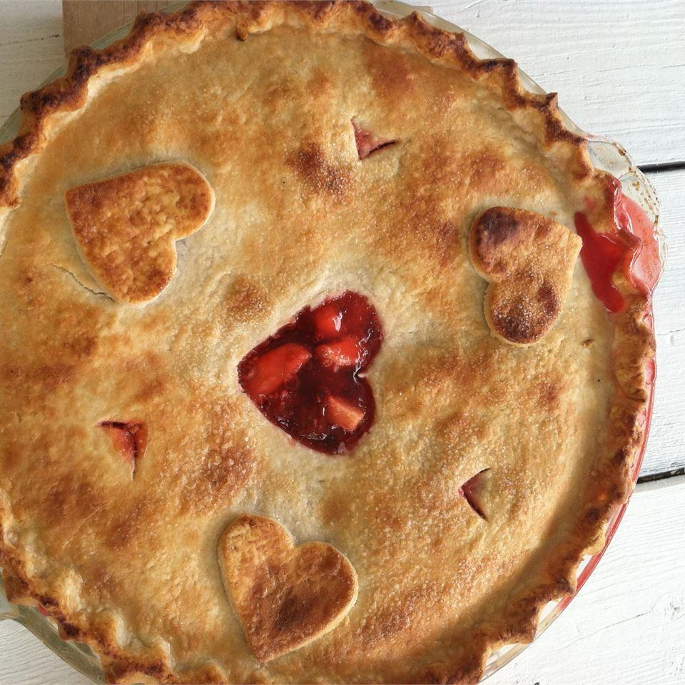 Rhubarb Cherry Pie