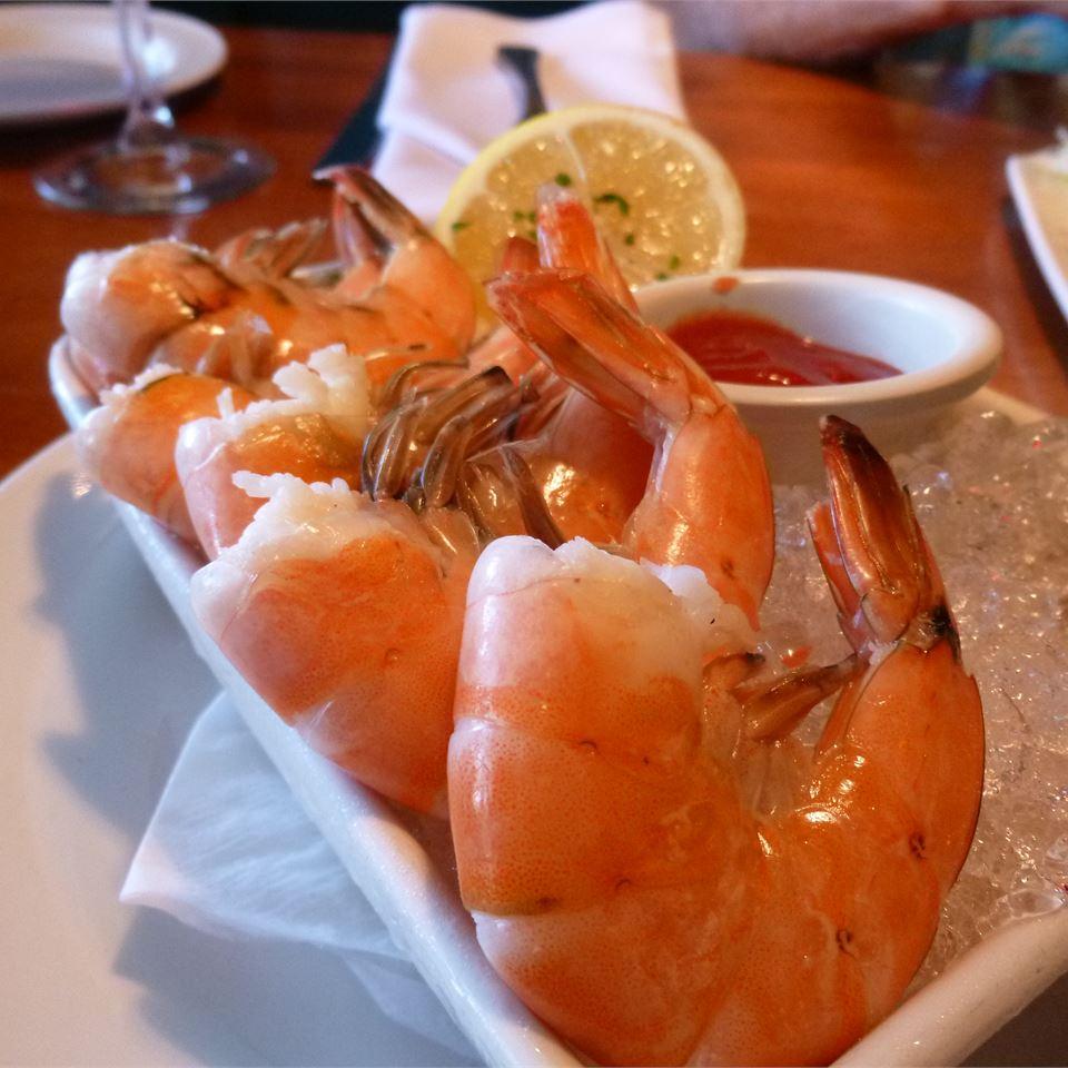 Grilled Shrimp Scampi Cocktail