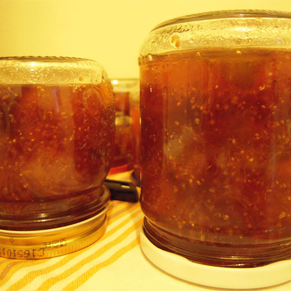 Fresh Fig Preserves with Rum