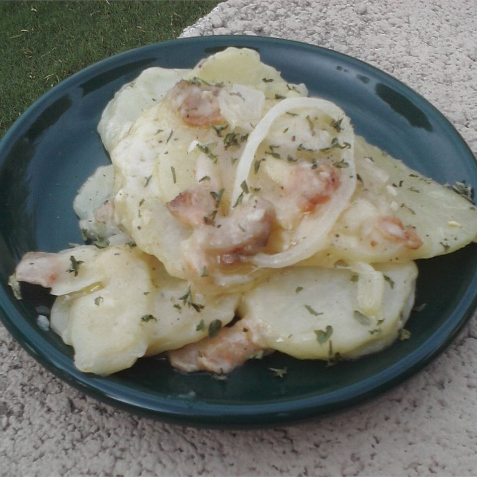 Swiss Scalloped Potatoes