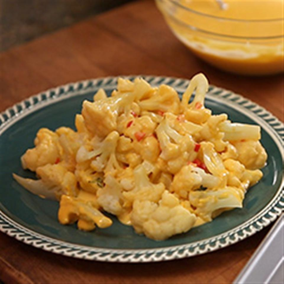 Utokia's Cauliflower in Bell Pepper and Cheese Sauce Trusted Brands