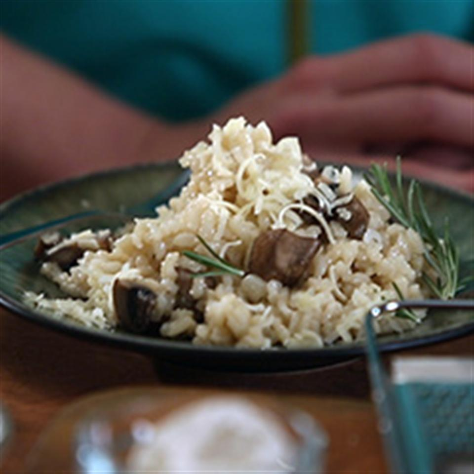 Karen's Easy Baked Mushroom and Onion Risotto Trusted Brands